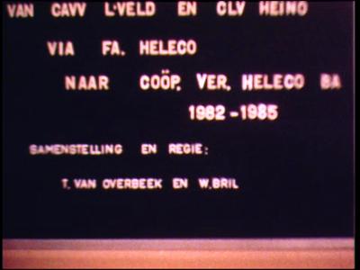12820 BB02513 Reportage over het dagelijks leven bij Heleco, een coöperatie voor de productie van veevoeders in Heino ...