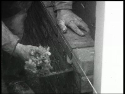 13086 BB01963 Een film met beelden van o.a. de bouw van het huis van Pas, een bezoek aan Lisse in de bollenstreek, een ...