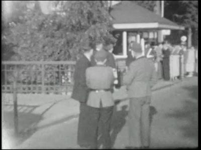 13465 BB02582 Beelden van een fabrieksreis van Baumwollspinnerei Eilermark in de zomer van 1950., 1950-00-00