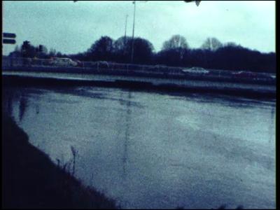 14540 BB11100 Een film rondom hoog water in de Vecht bij Ommen en omgeving, met beelden van o.a.:- Overstroming in ...