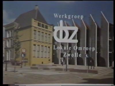 14634 BB00156 Een deel van een experimentele uitzending van de Werkgroep Lokale Omroep Zwolle, uitgezonden op 20 ...