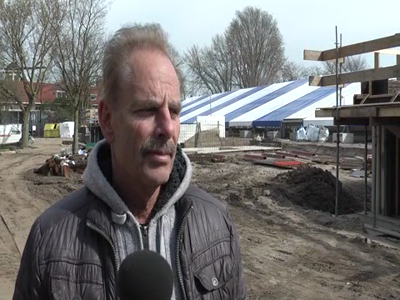14710 BB09541.06 De renovatie van het Openlucht bad in Zwolle opgenomen op 2 DVD's .Interview met Ron van den Berg ...