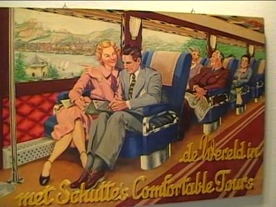 14723 BB04968 Ruw filmmateriaal van de opening van de tentoonstelling 'De busse van Schutte en loop'n det dutte', met ...