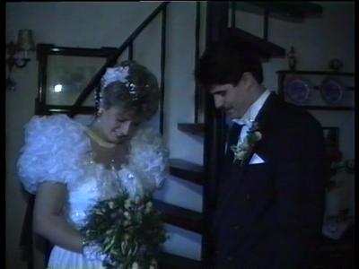 14773 BB10113.01 Een huwelijksreportage van Marcel Strait en Jannita Kapper, met beelden van o.a.:- De bruid wordt door ...