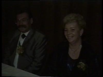 14774 BB10113.02 Een film rond het 25-jarig huwelijksfeest van Herman en Lidy Jongbloed in zalencentrum Stockmann ...