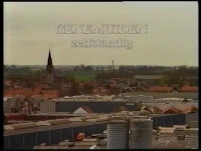 14812 BB07594 Een filmpje over het stadje Genemuiden, dat de gemeenteraad in 1997 liet maken, om de minister van ...