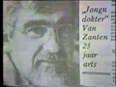 14871 BB08199.02 Feestelijkheden rondom het Zilveren jubileum van huisarts Veldhuyzen van Zanten, huisarts in Enter. ...