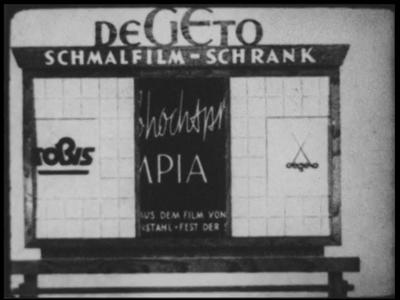 2504 BB03209 Samenvatting: Fragmenten uit de film van Leni Riefenstahl over de Olympische spelen in Berlijn in 1936 ...