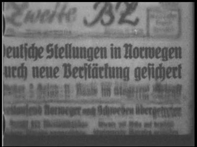 2512 BB03217 Samenvatting:Compilatie van Duitse filmjournaals uit de Tweede Wereldoorlog.Beschrijving00.02.23 Tekst: ...