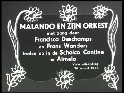 2620 BB04788 Een film rond een radio uitzending van de VARA, vanuit de kantine van Textielbedrijf Scholco te Almelo ...
