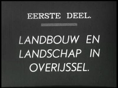 3074 BB03245 Documentaire 1936 van proefboerderij Aver Heino over de weidegebieden in Overijssel. Beelden van de vee- ...