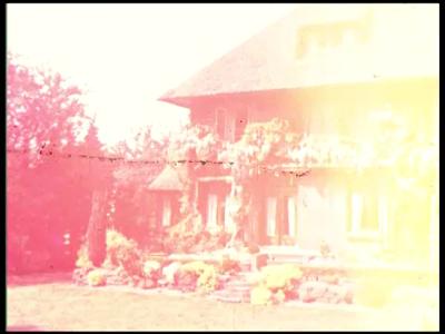 3375 BB09508 Een familiefilm van de familie Lamberts rond een vakantie naar Zwitserland, met beelden van o.a.:- Het ...