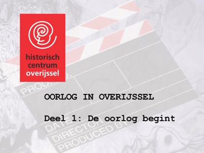 3953 BB10479.01 Op deze DVD staan filmbeelden van de Tweede Wereldoorlog in Overijssel. Het is samengesteld in april ...