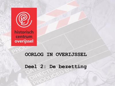 3954 BB10479.02 Op deze DVD staan filmbeelden van de Tweede Wereldoorlog in Overijssel. Het is samengesteld in april ...