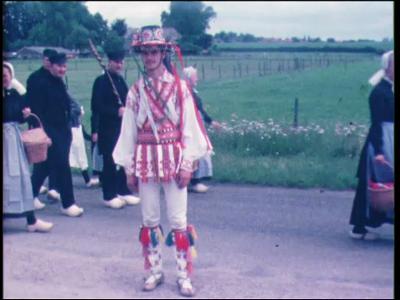 4242 BB03804 Film uit de Collectie Aaftink Holten.Internationaal dansfestival in Holten. Eerste dansers uit de ...