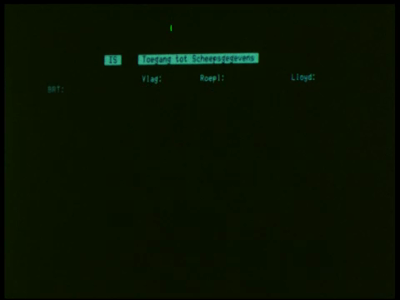 4363 BB05736 De film behandelt het nieuwe Verkeers Begeleidings Systeem van de Rotterdamse Haven.0:00:00Logo: ...