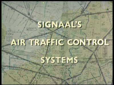 4369 BB05742 Deze documentaire film behandelt het SATCO luchtverkeersleidingssysteem van Signaal.0:00:04Tegen de ...
