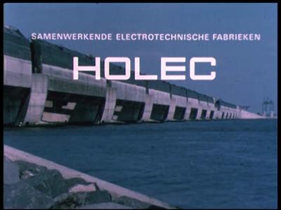 4781 BB03351 Bedrijfsfilm van HOLECEen caleidoscoop van bedrijven worden voorgesteld.Beelden van kunstwerken in ...