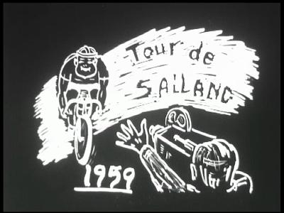 4800 BB03370 Reportage over de Tour de Salland 1959, een vierdaagse fietstocht en -wedstrijd voor jongeren te Deventer. ...