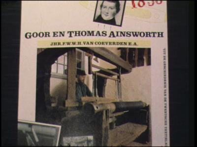 4816 BB03842 Herdenking van Thomas Ainsworth 150 jaar, van 1833 tot 1983. Een Engelse industrieel, geboren in 1795 ...
