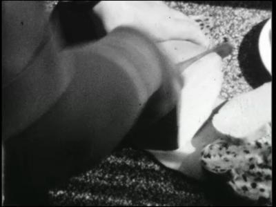 4819 BB03845 Pasen in een verzorgingstehuis te Vroomshoop, met beelden van de dagelijkse gang van zaken., 1957-04-00