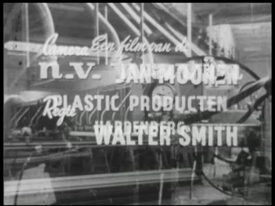 6710 BB07166 Een bedrijfsfilm van kunststofproducent Wavin uit Hardenberg, met beelden van loden buizen, buizen van ...