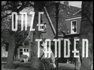 7084 BB03455 Een onderwijsfilm gemaakt in opdracht van het Ivoren Kruis rondom gebitsverzorging, met beelden van ...
