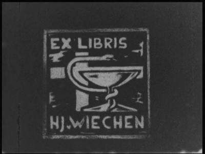 8258 BB04042 Film ter gelegenheid van het 25-jarig jubileum van Het Wit-Gele Kruis in Zwolle.0:00:00Tekst: Ex Libris - ...