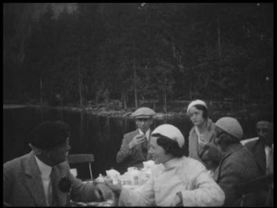 8948 BB06722 Samenvatting:Privé-opnames van de Joodse bankiersfamilie Kahn uit Mannheim van een vakantie in Italië. De ...