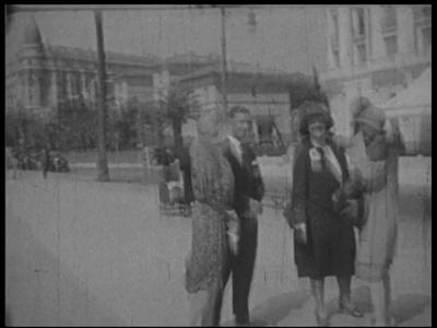 8955 BB06729 Samenvatting:Privé-opnames van de Joodse bankiersfamilie Kahn uit Mannheim van vakanties in Zuid-Frankrijk ...