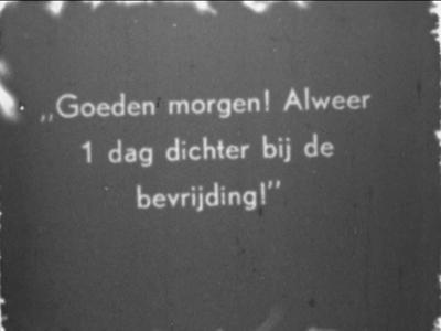 8965 BB06741 Samenvatting:Amateurfilm met beelden van gebeurtenissen in Hengelo tijdens en na de Tweede Wereldoorlog. ...