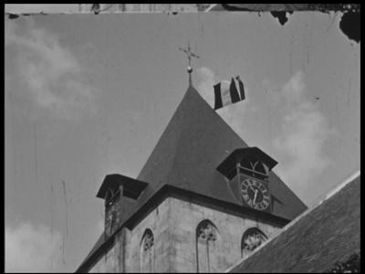 8973 BB06749 Samenvatting: Reportage over de viering van het 40-jarig regeringsjubileum van koningin Wilhelmina in ...