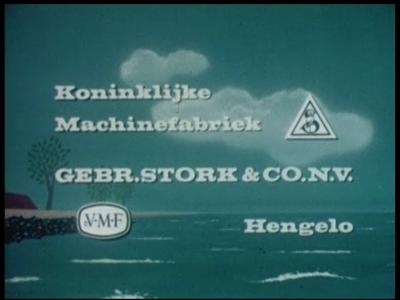 9140 BB02119 Een bedrijfsfilm van Stork over drainagepompen in de Nederlandse polders, met beelden van operationele ...