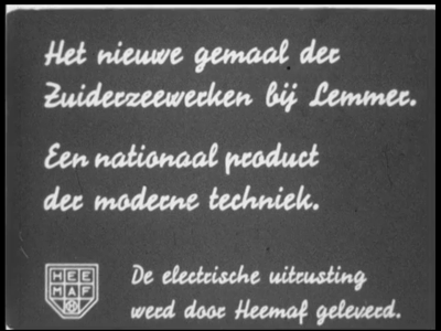 9461 BB02151 Samenvatting: Eerste deel van een filmreeks over de bouw door Heemaf in Hengelo van drie enorme ...