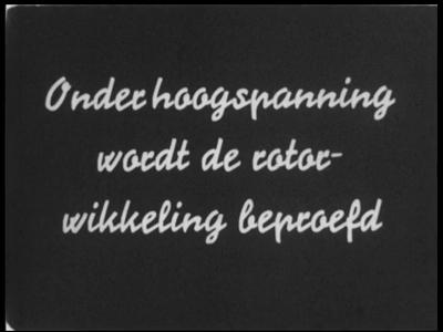 9462 BB02152 Samenvatting: Tweede deel van een filmreeks over de bouw door Heemaf in Hengelo van drie enorme ...