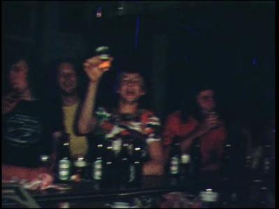9623 BB00394 Familiefilm van J. Olthof.Deel 1:In het café Olthof in Hellendoorn worden de verjaardagen van Jos van de ...