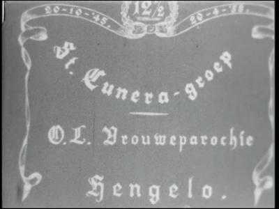 9981 BB00429 Een film over het uitstapje ter gelegenheid van het 12,5 jarig bestaan van de Cunera-groep Onze Lieve ...