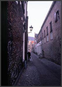 1284 DIA000057 Afbeelding van het Celecentrum aan de Papenstraat in Zwolle.Tegenwoordig(begin 21e eeuw) deel uitmakend ...