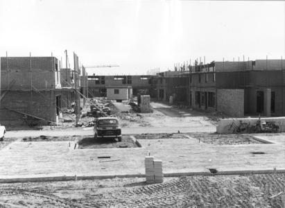 4040 FD000001 Aa-landen noord, nieuwbouw in aanbouw, omgeving Amer, 1971., 1971-00-00