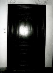 5268 FD001319 Gangdeur in het voormalige woonhuis van de dichter Rhijnvis Feith (1753-1824) in de Bloemendalstraat in ...