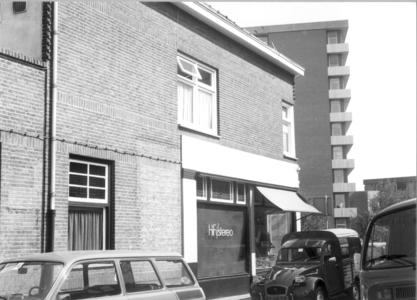 7012 FD000850 Woningen op de hoek van de Bartjensstraat met de Assendorperstraat. in de gelijknamige wijk. Op de ...