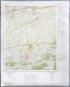 1554-KD001125 Dalfsen 21H Topografische kaart van Dalfsen en Nieuwleusen. Verkend in 1972. Met legenda , 1975