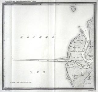 848-KD001479 Supplementair Blad, behoorende tot het Blad nr 15, Kampen Supplement bij het vijftiende blad van de atlas ...