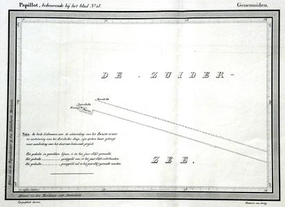 852-KD001483 Papillot, behoorende bij het Blad nr 18, Genemuiden Toevoeging bij het achttiende blad van de atlas van ...