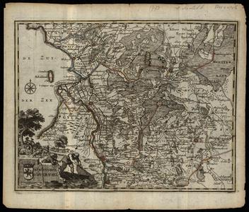2168 Seigneurie D'Over-Ysel Kaartje van Overijssel, uit nieuwe Geographische en Historische atlas van de VII Vereenigde ...