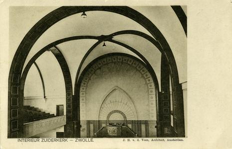 1001 PBKR6594 De Zuiderkerk, ontworpen door architect J.H. v.d. Veen uit Amsterdam, is in 1925 in gebruik genomen door ...