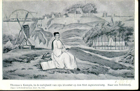 1072 PBKR3747 Thomas a Kempis op de Agnietenberg., 1470-00-00