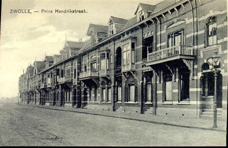 1370 PBKR5480 Prins Hendrikstraat, even zijde, ca. 1910, gezien vanaf Veerallee naar het noordwesten., 1910-00-00
