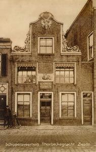 1496 PBKR3815 Schippersveerhuis Thorbeckegracht, 1900-00-00