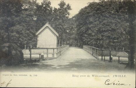 243 PBKR4186 Spoolderbergbrug over de Willemsvaart, 1904. (Zelfde als PBKR4185, nu zonder personen)., 1904-00-00